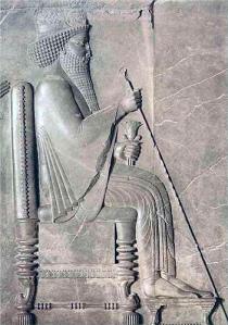 Mesopotamian era throne
