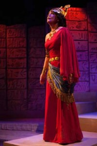 Jim's wife, Charlotte Akin,  in Gilgamesh, as Ninsun